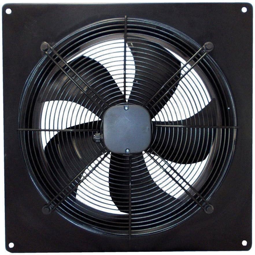 Airtech ventilador Extractor comercial Industrial ventilador Escape Heavy Duty potente bajo nivel de ruido para restaurante almacén garaje cocina