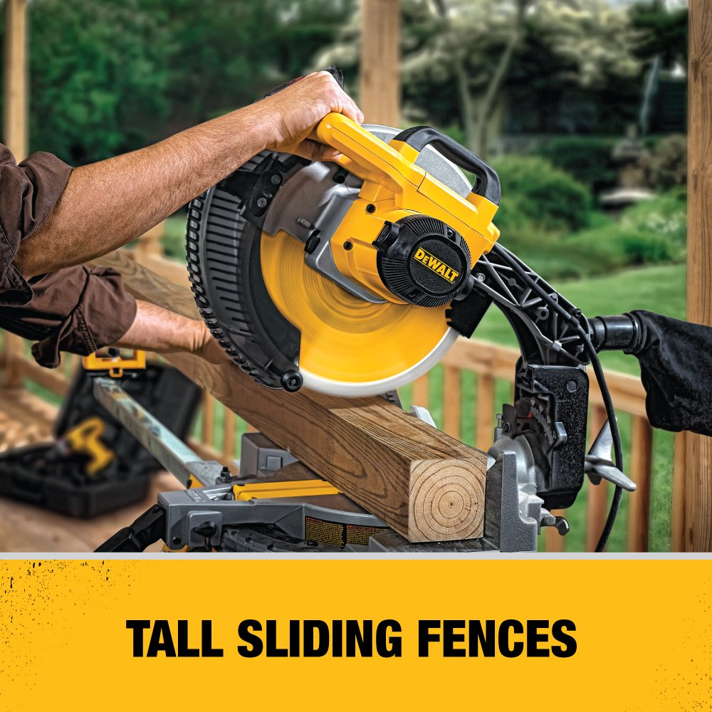 Dewalt 12-Inch Compound  Miter Saw​