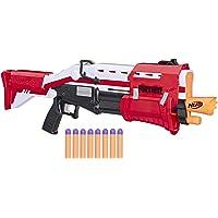 Brinquedo Lança Dardos Nerf Fortnite Reskin - Com 8 dardos Nerf Mega Oficial - E7065 - Hasbro