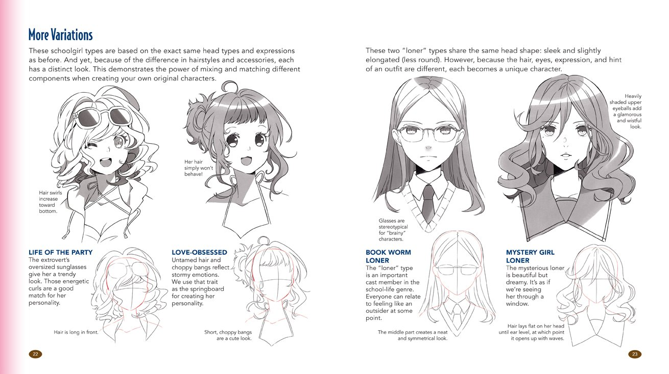 The Master Guide to Drawing Anime: How to Draw Original Characters from Simple Templates