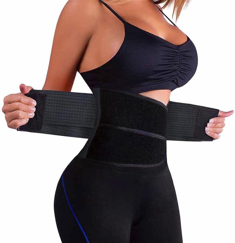 Waist Shaper Slimmer Premium Waist Trimmer Neoprene Sweat Waist Trainer Corset Trimmer Belt for Women Weight Loss Tummy Tuck Belt