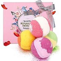 Janolia Badbal, 4 x 100 g stuks natuurlijke badballen, spa-kit voor huidverzorging