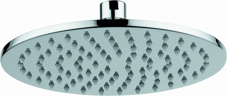 Rainfall Shower Head Spa Red Copper Bathroom Rain Shower Head Swivel Joint 8inch