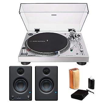 Audio-Technica AT-LP120X-USB Juego de Tocadiscos analógico y USB ...
