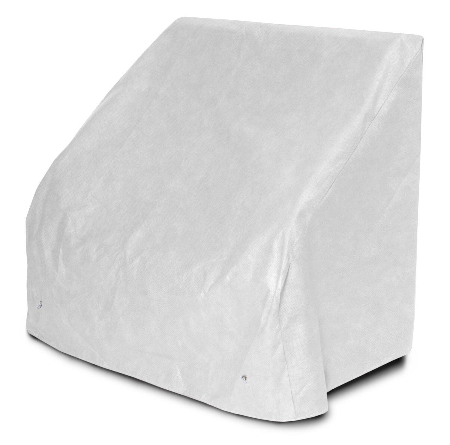 KoverRoos DuPont Tyvek 24204 5-Feet Bench/Glider Cover, 75-Inch Width by 28-Inch Diameter by 37-Inch Height, White by KOVERROOS (Image #1)