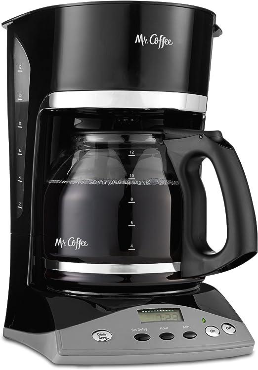Mr Coffee VBX23 12-Cup Programmable Coffeemaker Black