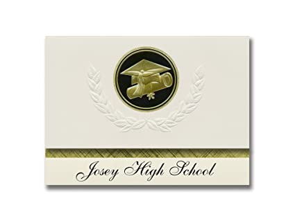 Genial Signature Announcements Josey High School (Augusta, GA) Graduation  Announcements, Presidential Style,