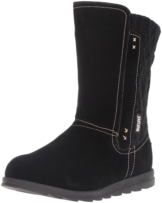 MUK LUKS Women's Stacy Winter Boot B01KGJM534 6 B(M) US|Black