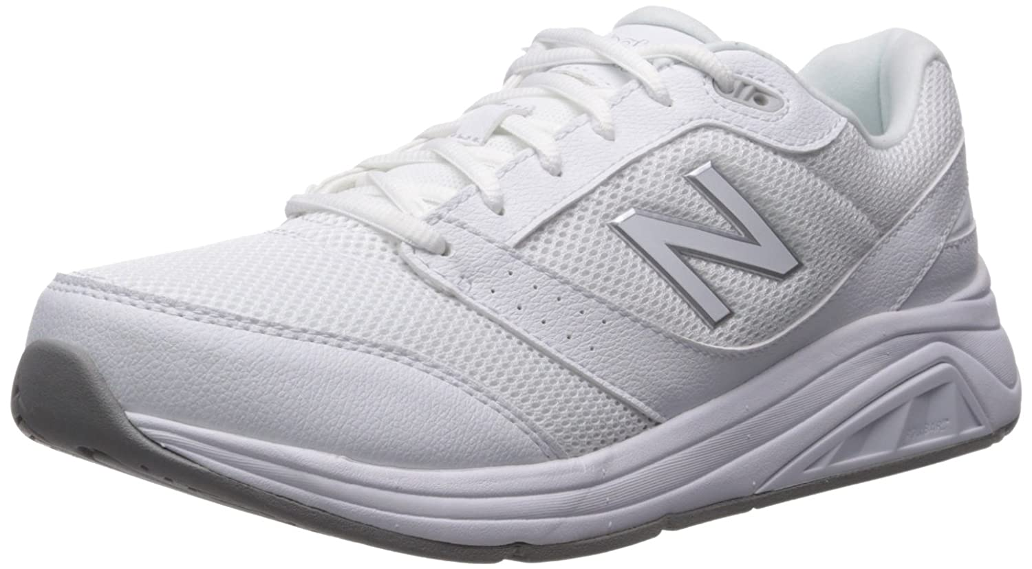 New Balance Women's Womens 928v3 Walking Shoe Walking Shoe B01MXNYSLC 10.5 D US|White/White