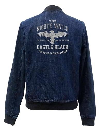 The Night Watch Bomber Chaqueta Girls Jeans Certified Freak