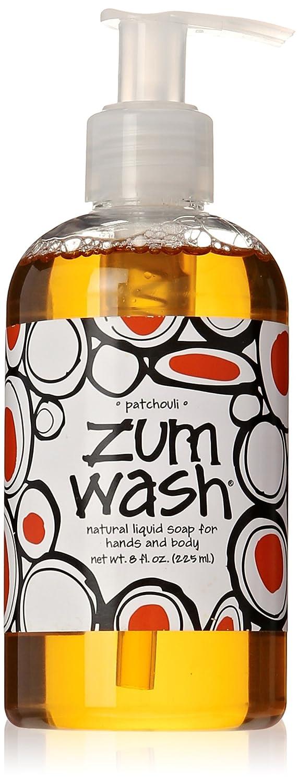 Indigo Wild Zum Wash Liquid Soap, Patchouli, 8 Fluid Ounce