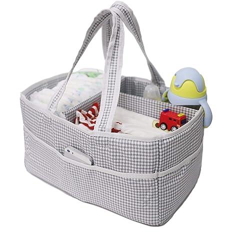ViVidLife Organizador de Pañales para Bebé, Cajas de Pañales ...