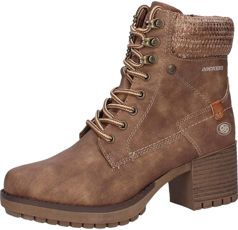 Dockers Femmes Eu Chaussures 42 Bottine 41ch207 Marron aan68r1