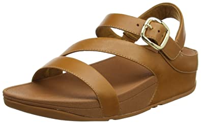 FitFlop The Skinny II Back-Strap, Sandales Bout Ouvert Femme, Marron (Caramel 98), 37 EU