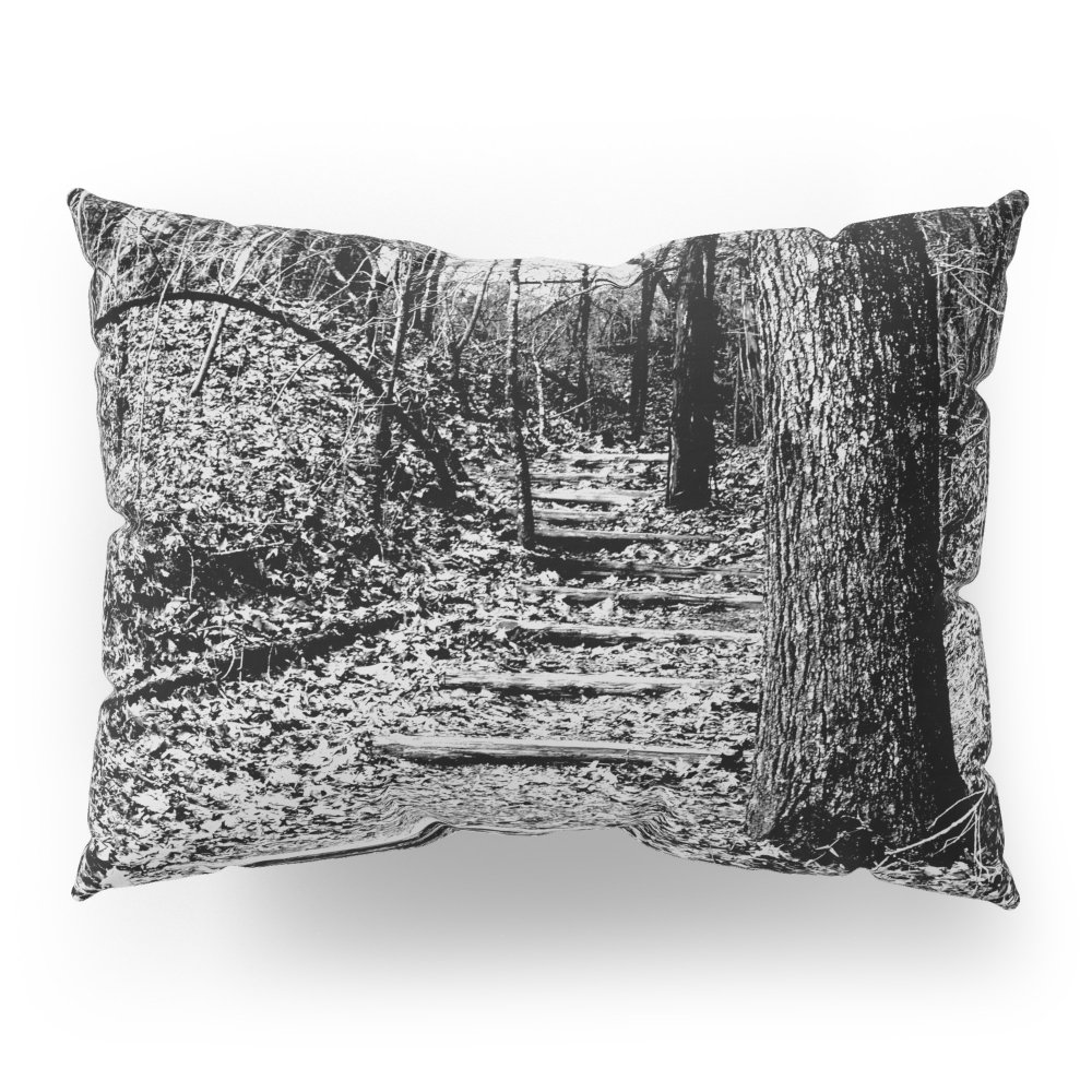 Society6 Steps Through The Woods Pillow Sham Standard (20'' x 26'') Set of 2