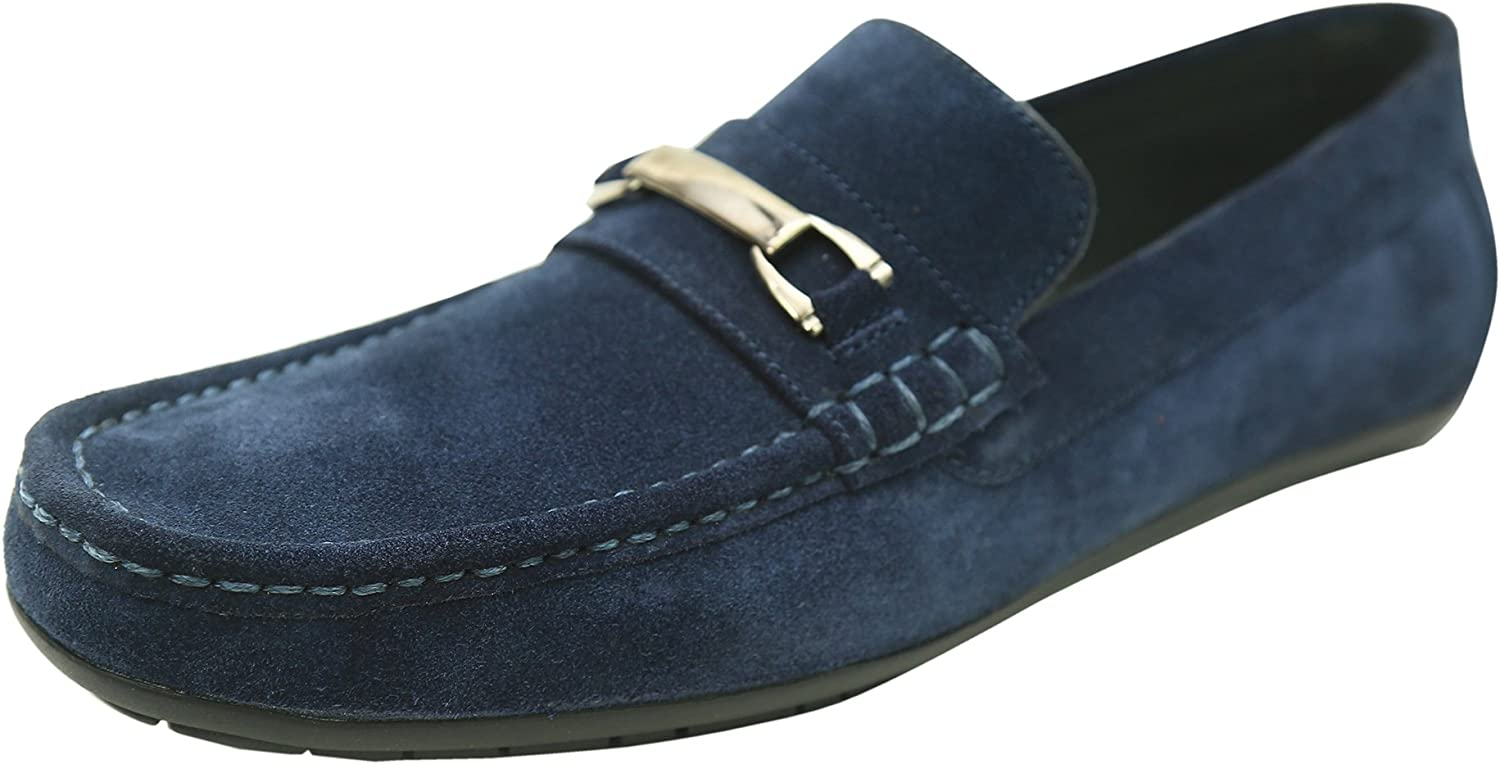 Andrew Fezza AF-S9508 Kane Suede Bit Buckle Driver Shoes