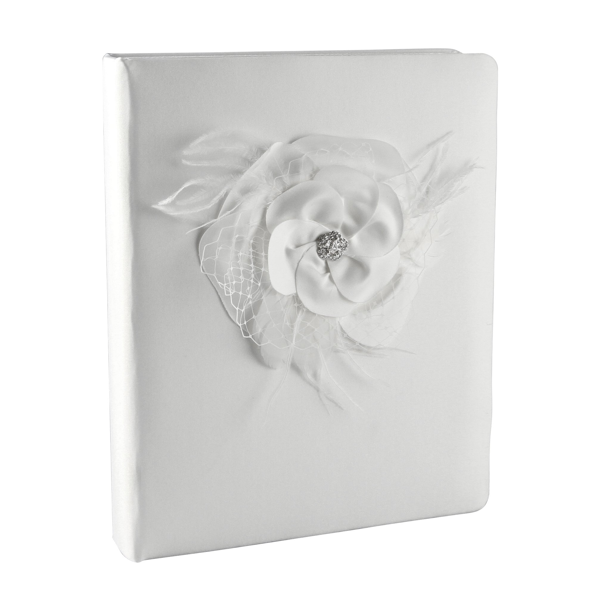 Ivy Lane Design Somerset Collection Memory Book, White by Ivy Lane Designs
