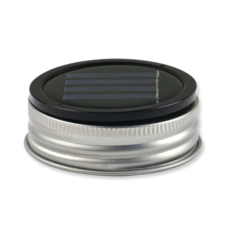 Expower 3er Pack Solar Gläser Deckel Licht Solarwelt LED blinkende ...