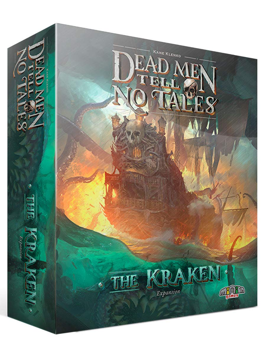 Minion Games MIGDM101 Dead Man Tell no Tales: Kraken Expansion, Mehrfarbig Pegasus Spiele