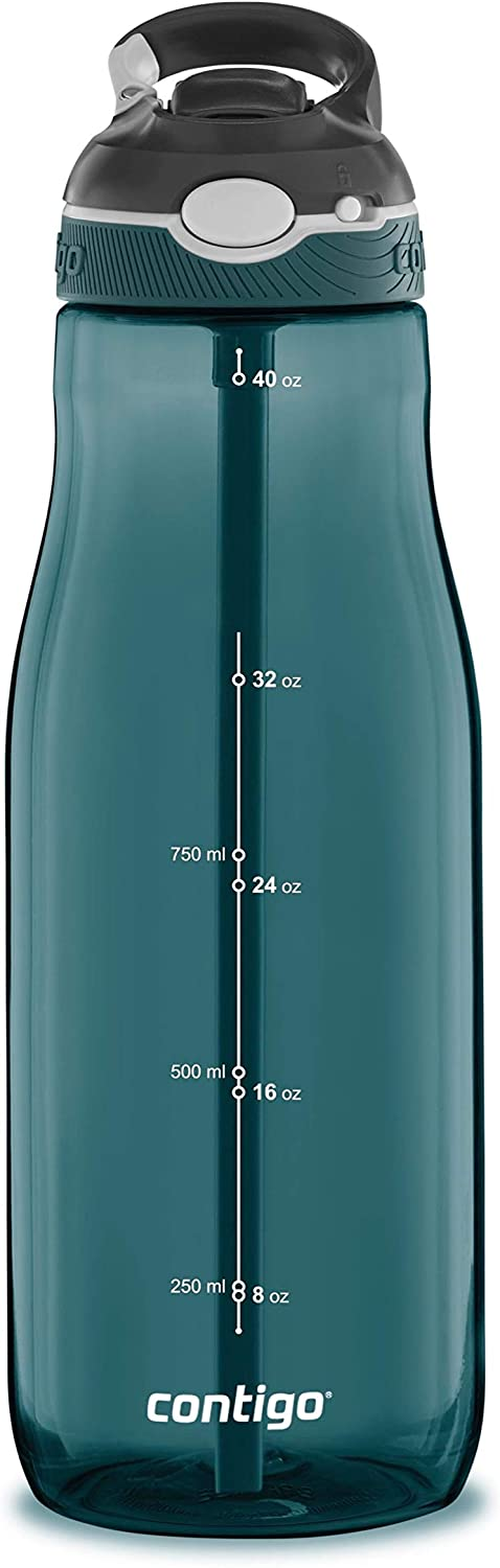 Contigo Ashland Water Bottle, 40 oz, Chard
