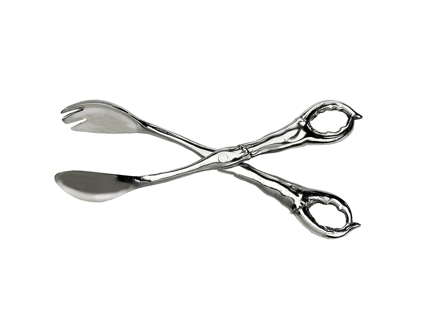 Aluminum Crab Claw Design Salad / Serving Tongs