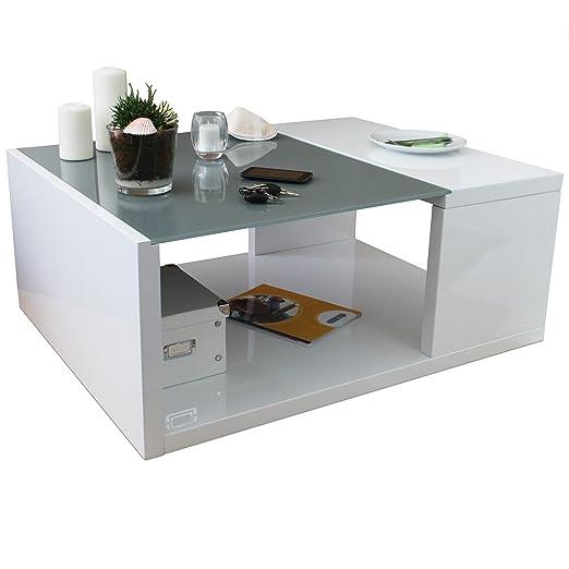 MultiStore 2002 Mesa de salón - Mesa de café de Cristal - Mesa ...
