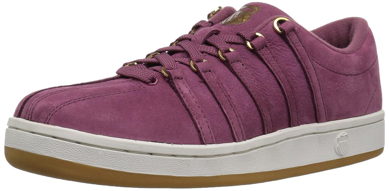 K-Swiss Women's Classic 88 P Sneaker B01MTETF7F 7.5 B(M) US Hawthorn Rose/Vaporous Gray/Gold