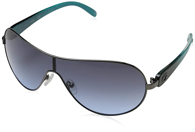 GUESS GUF212GUN-3300, Gafas de Sol para Mujer, Gun Metal, 00