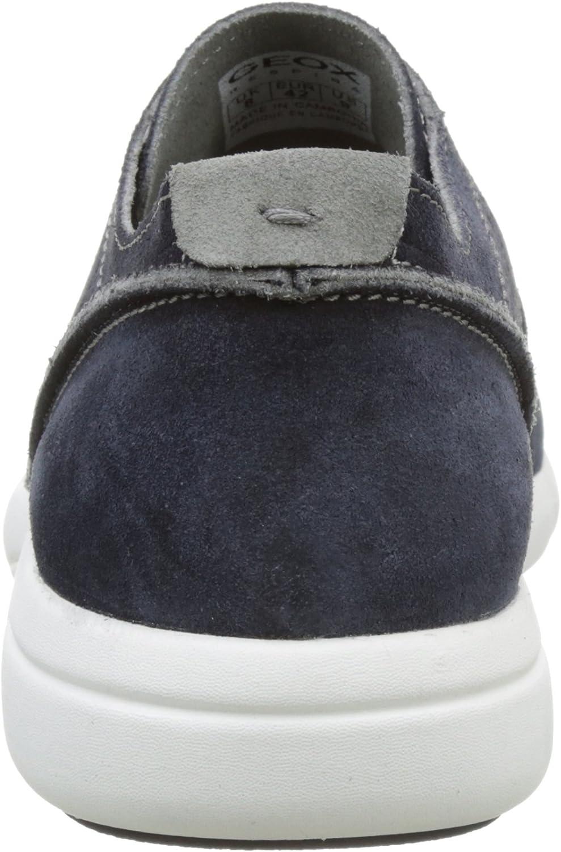 Geox Men's M Brattley 2 Fashion Sneaker Navy