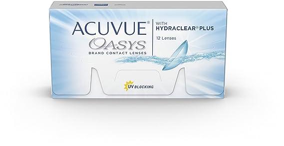 dd00c4608b0f6 Acuvue Oasys Lentes de contacto tóricas quincenales para astigmatism ...
