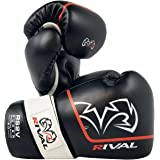 RIVAL Boxing RS2V 2.0 Super Pro Hook and Loop Sparring Gloves - 18 oz. - Black
