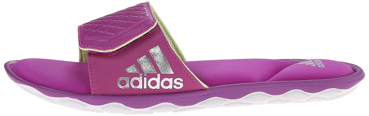 watch 8534d 2dc44 adidas Performance Women s Anyanda Flex Slide W Athletic Sandal PinkWhiteSilver  10 B(M) US Buy Online at Low Prices in India - Amazon.in