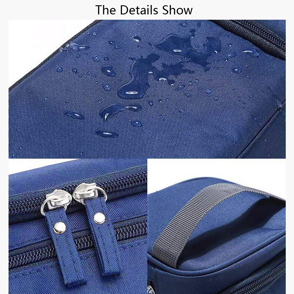 b67b72ec2a69 Toiletry Bag Overnight Wash Bag Hanging Gym Shaving Bag Travel Pouch for Men