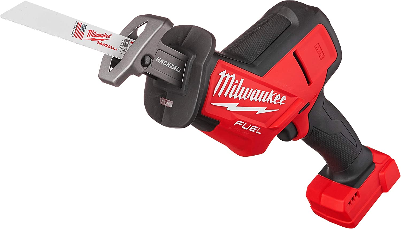 Milwaukee 2719-20 M18 FUEL Hackzall Bare Tool , Red, Black,