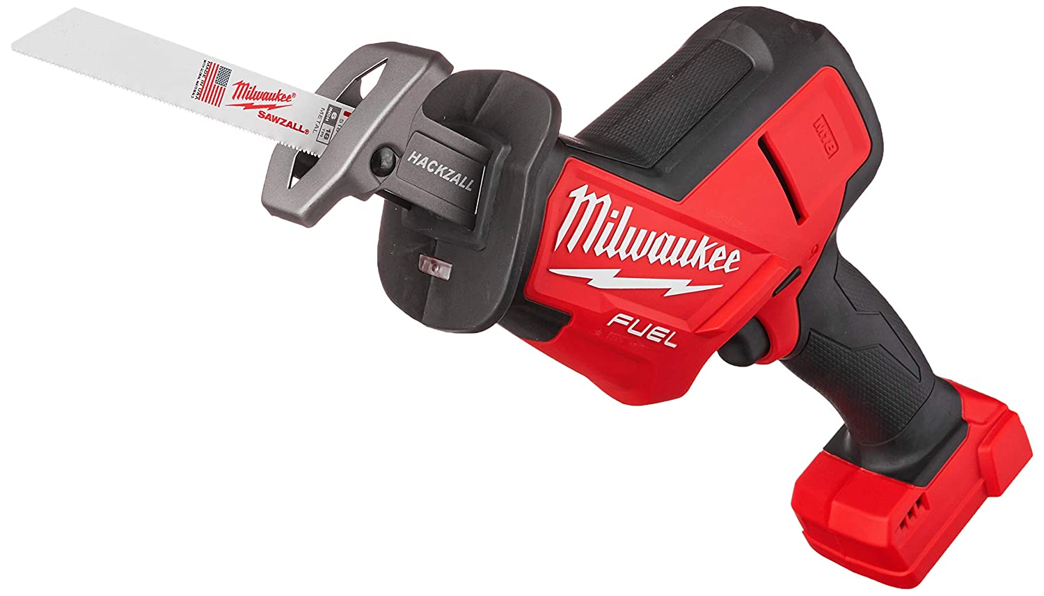 Milwaukee 2719-20 M18 FUEL Hackzall Bare Tool , Red, Black,