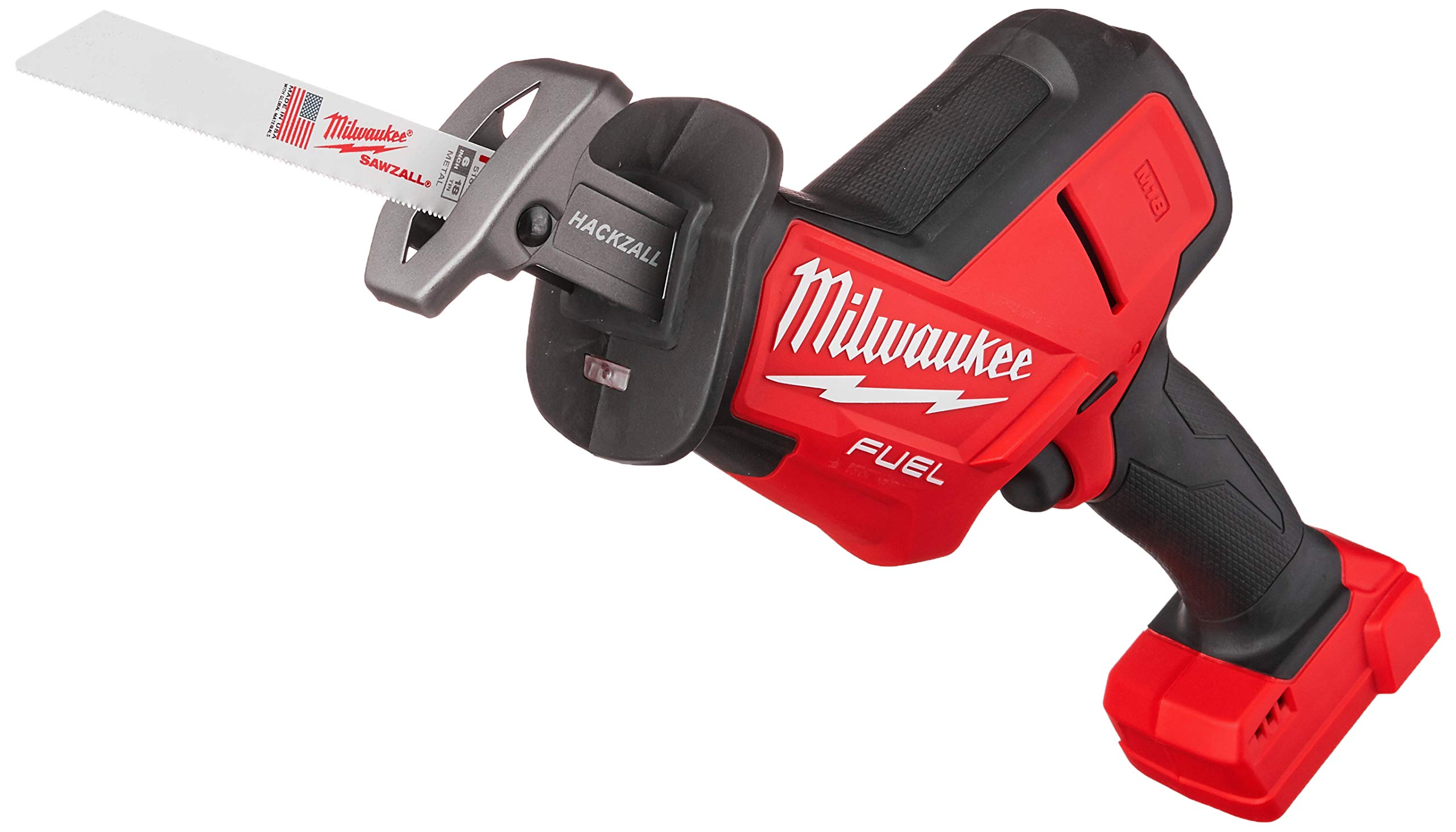 Milwaukee 2719-20 M18 FUEL Hackzall (Bare Tool), Red, Black, by Milwaukee