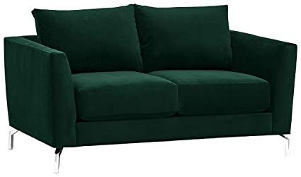 Rivet Emerly Modern Loveseat, 63