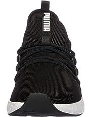PUMA Men's Nrgy Neko Blk-wht Shoes, Black White