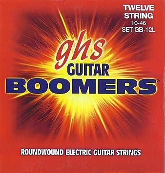 ghs GB12L - Juego de cuerdas para guitarra eléctrica, 12 cuerdas: Amazon.es: Instrumentos musicales