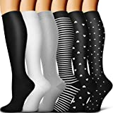 Copper Compression Socks Women & Men - Best for Running,Sports,Hiking,Flight Travel,Circulation