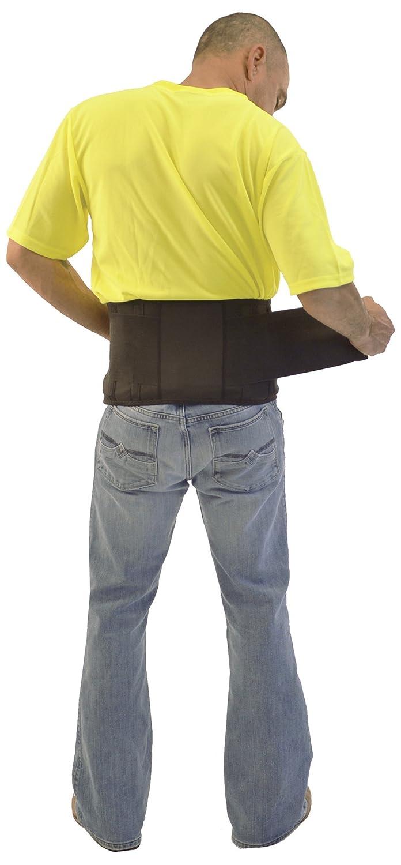Black Standard Plumbing Supply Medium ERB 12140 Safety Economy No Suspenders 33-37 Hardhats