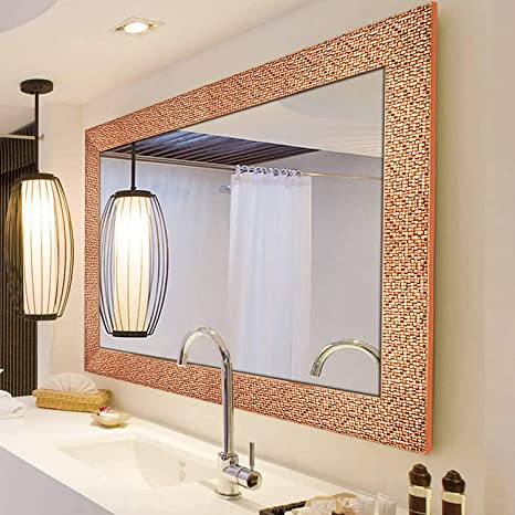 Hans Alice Large Wall Mirror For Bathroom Bedroom Living Room Hanging Horizontal Or Vertical Dressing Or Full Length Mirror Commercial Grade 90 Cr Kitchen Dining