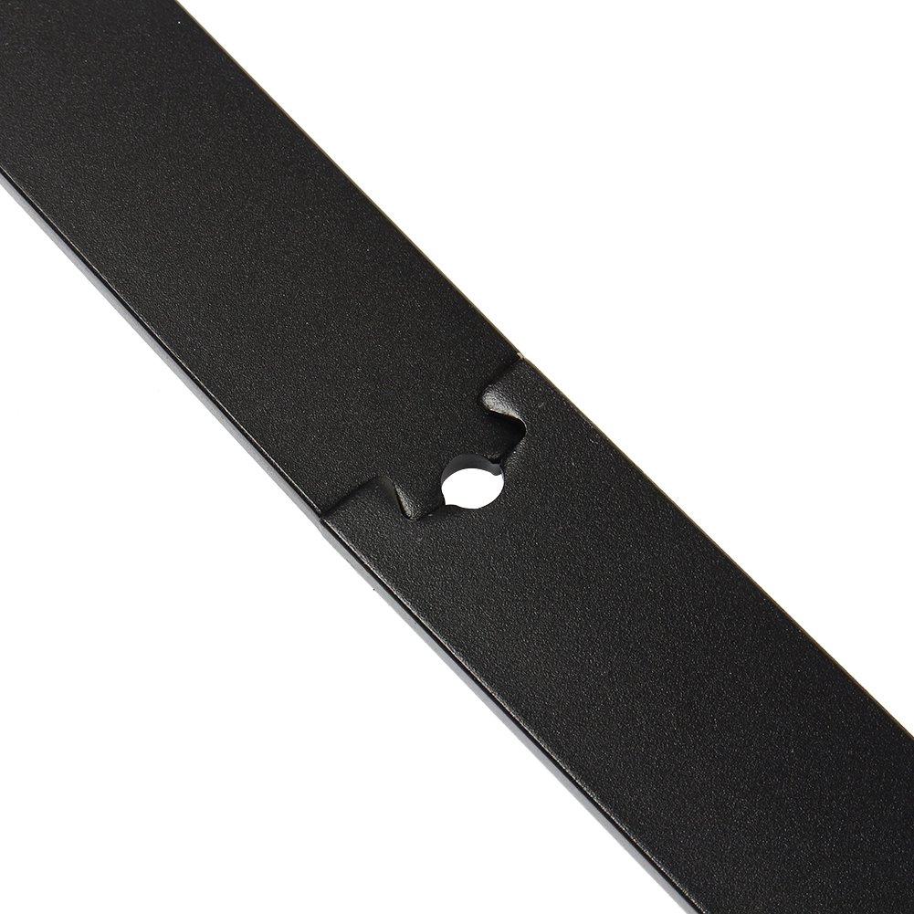 Rullo per porta scorrevole in acciaio anticato colore nero