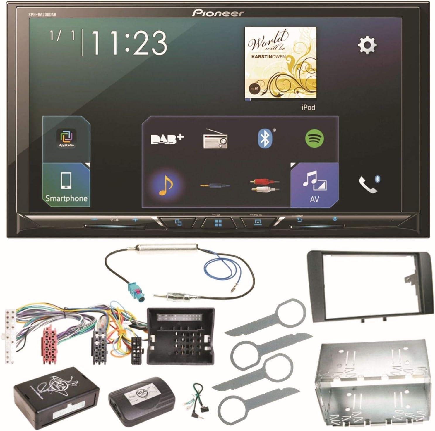 Pioneer Sph Da230dab Bluetooth Digitalradio Carplay Elektronik