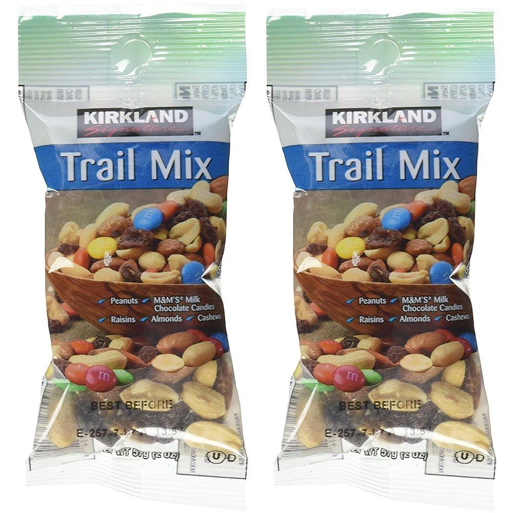 Trail Mix xMYzZJ 2 oz Snack Packs, 28 Count (2 Pack) by Kirkland Signature (Image #1)