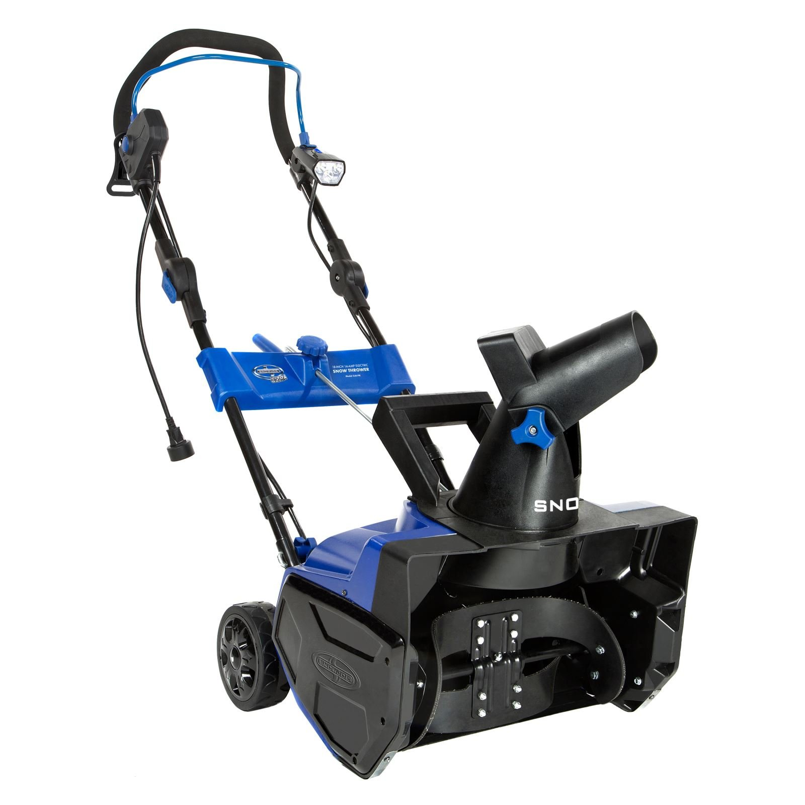 Snow Joe SJ619E-RM 18'' 14.5 Amp Electric Snow Thrower with Light (Certified Refurbished) by Snow Joe