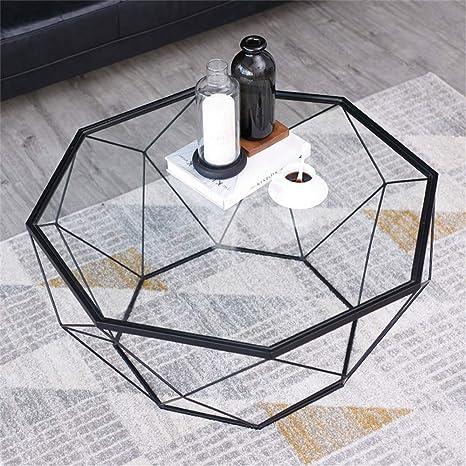 mesas de Centro Modernas Mesa de Centro Octagonal Simple de ...