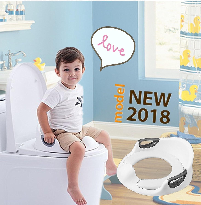 Portable Kids Toilet Seat Baby Toddler Potty Training Trainer Non-slip Safety UK