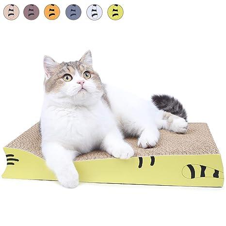 AMZNOVA - Almohadilla para rascar Gatos, rascadores para Gatos ...