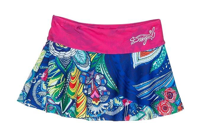 Desigual Maui Falda baño niñas Blau (AZUL LOVELY 5099) 14 años ...